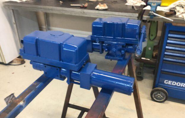 Marine Hydraulic service ballast valve actuators - HYDROCARE
