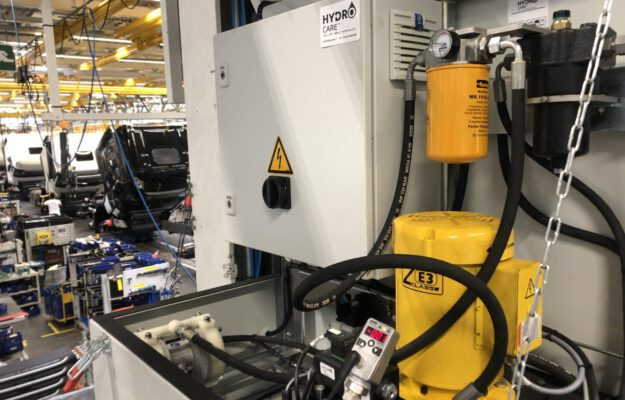 hydro care spoelinstallatie