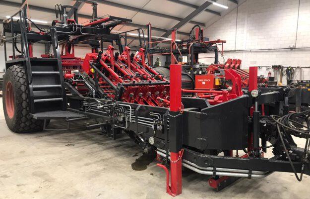 hydraulische installatie nieuwe machine