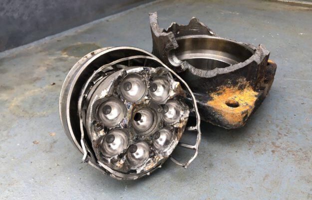 reparatie hydrauliekmotor
